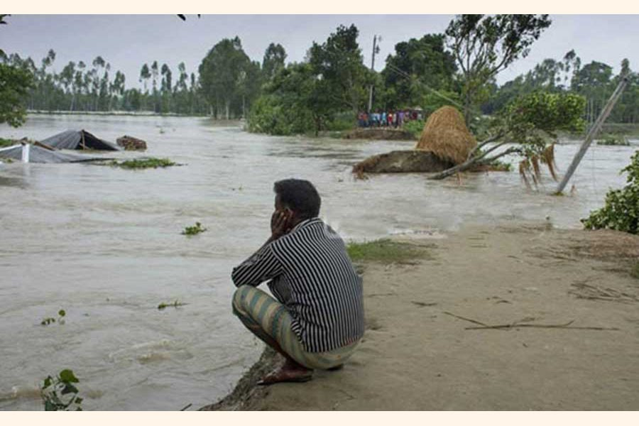 Bangladeshi families in rural areas have been spending 12 times more each year than the foreign aid the flood-prone country receives to prepare for and cope with the effects of climate change, according to a report from the London-based International Institute for Environment and Development, published ahead of the 2019 UN Climate Action Summit held at the headquarters of the United Nations in New York on 03 September 23, 2019. — bdnew24.com