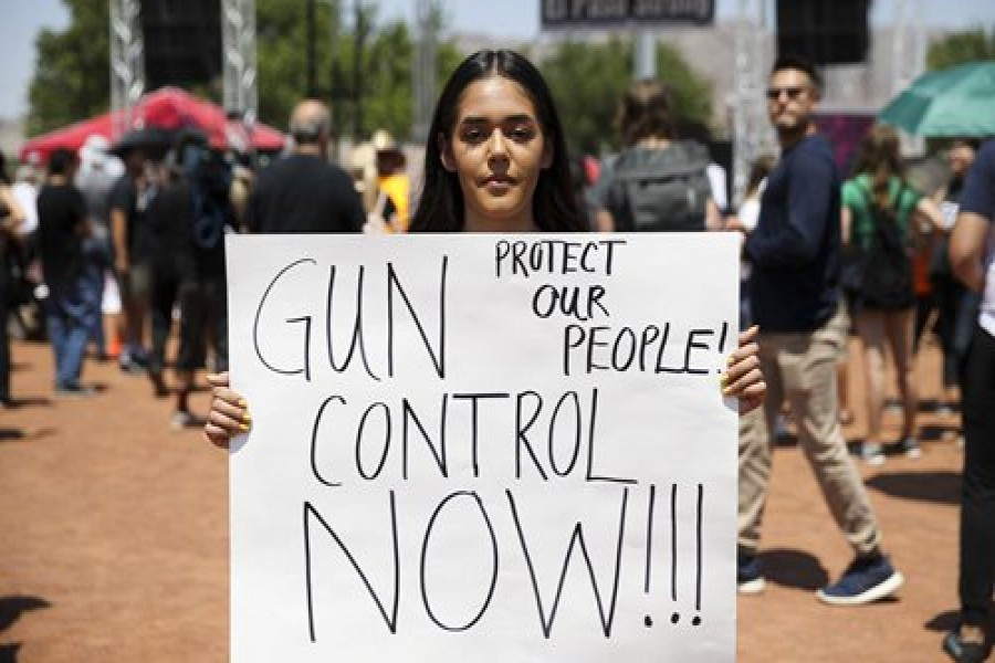 Gun ownership, deaths out of control in US