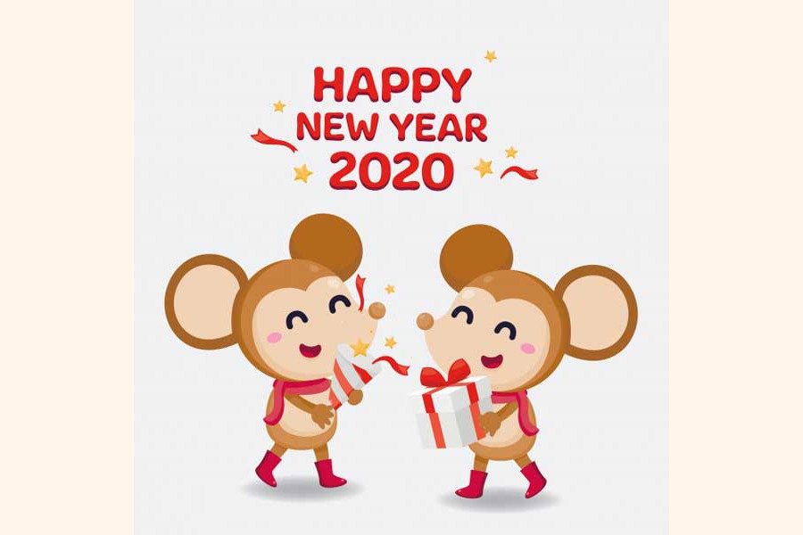 New Year wishes for the  distressed humanity