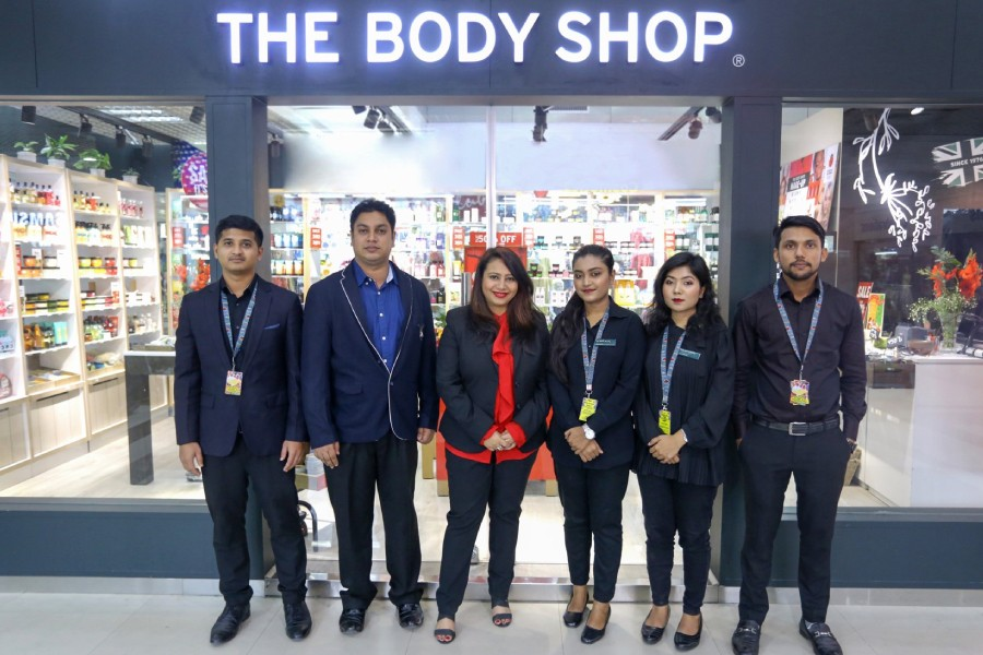 Tarana Ahmed, Senior Manager Marketing - Asia South and Abdul Mohimen Sumon, Manager Operations - Bangladesh of The Body Shop were present during the opening of the second store of the brand in Bashundara City, Dhaka