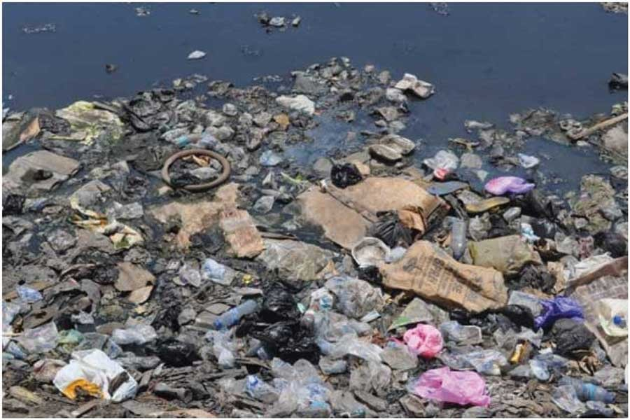 Plastics are increasingly polluting the seas and oceans and threatening marine ecosystems. —Photo credit: Busani Bafana/IPS