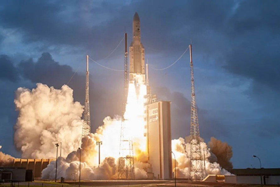 "India launches telecom satellite ""GSAT-30"""