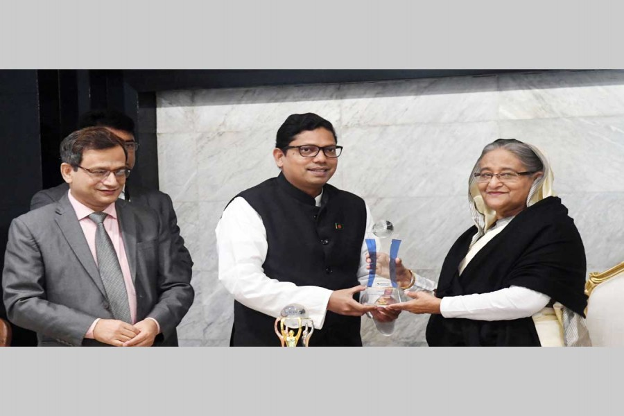 ASOCIO award handed over to PM
