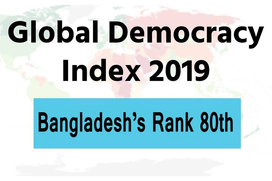 BD moves up eight notches on Democracy Index