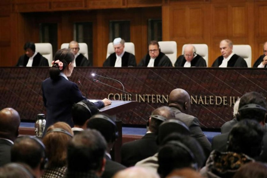 ICJ ruling on Rohingya crisis