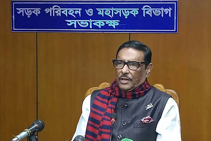 Criminals may cause problems on voting day: Obaidul Quader