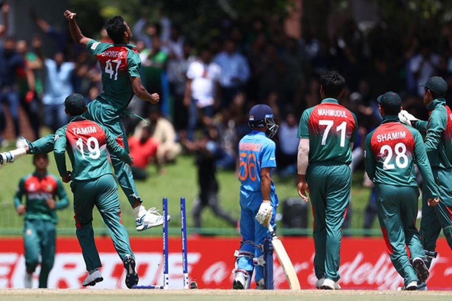 U-19 WC Final: Bangladesh restricts India to 177