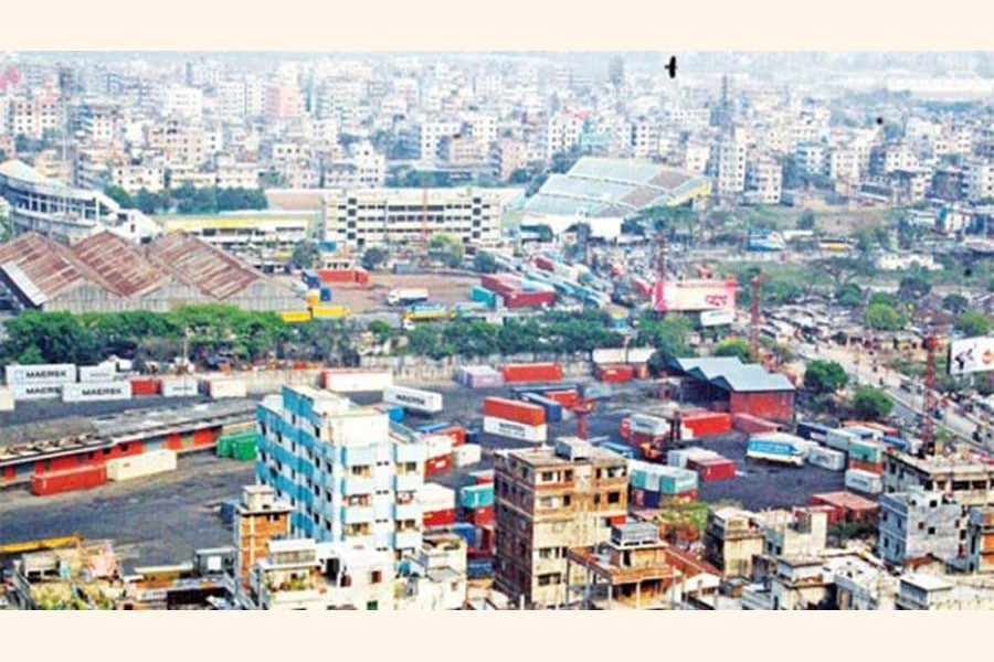 A top view of the Rajshahi city 	— FE Photo