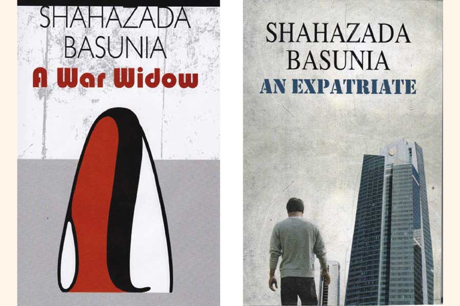 Two English novels of Shahazada Basunia