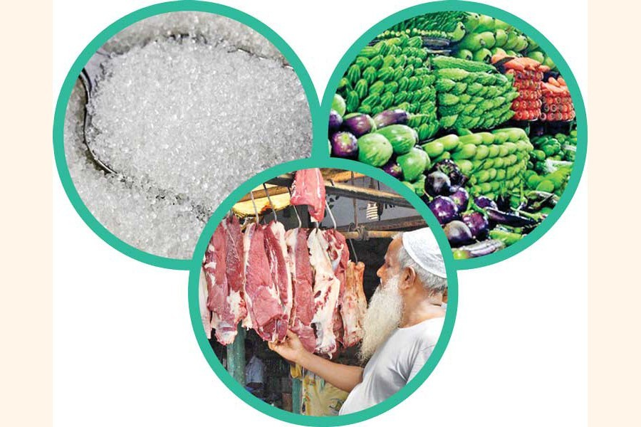 Sugar, meat, veg prices escalate