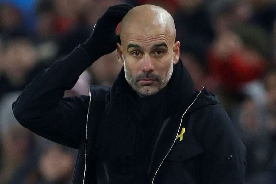 Manchester City's manager Pep Guardiola - Reuters file photo