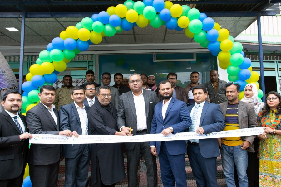 EBL opens Agent Banking Outlet in Rangpur
