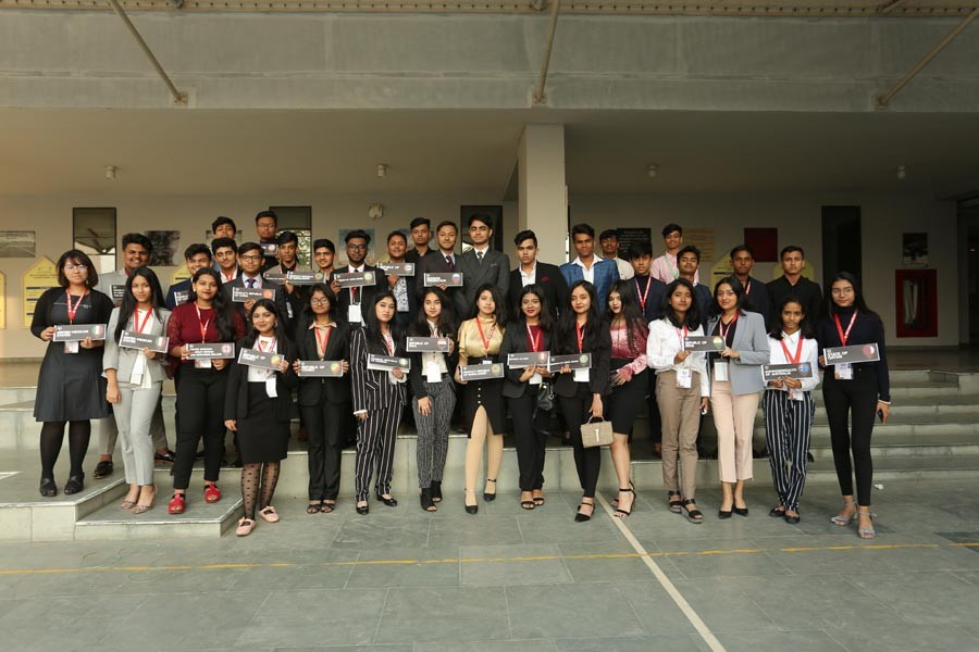 33 schools participate at DPS MUN