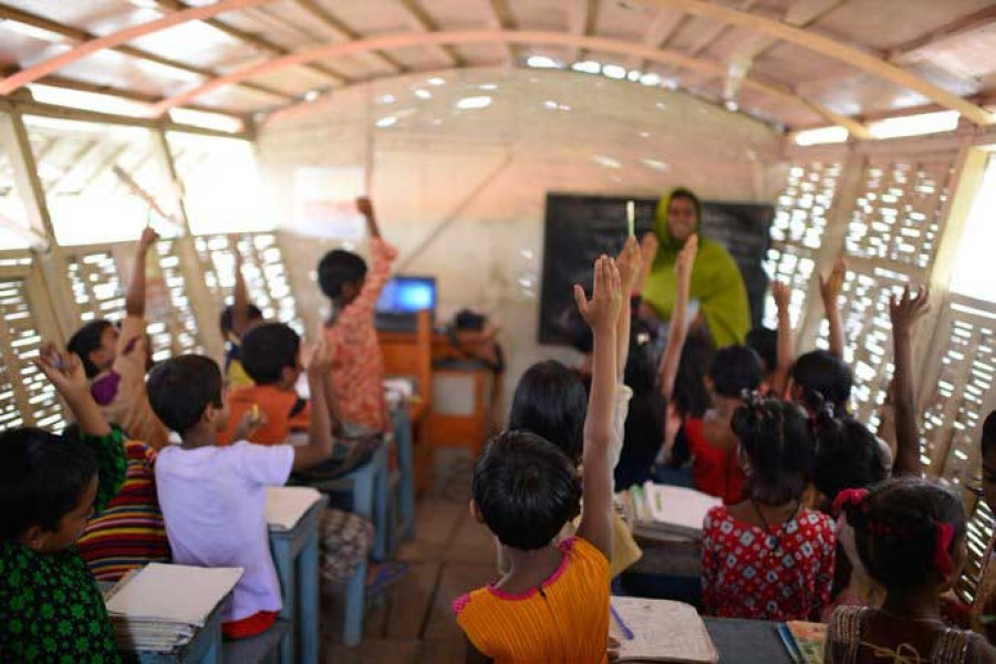 Floating classrooms bring education to flooded communities in BD