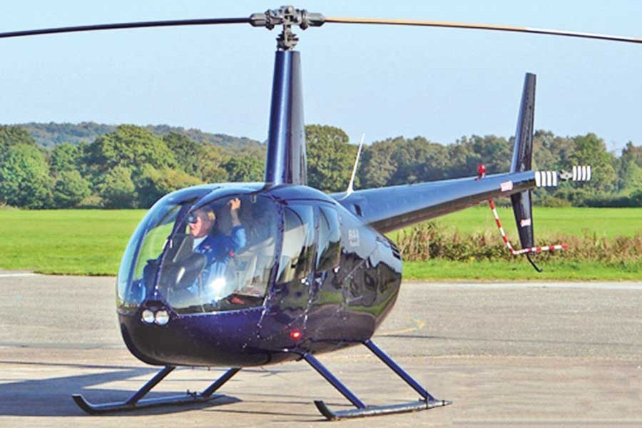 Private helicopter service