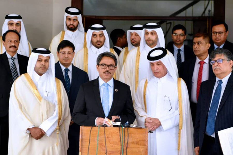 Bangladesh eyes stronger commercial ties with Qatar