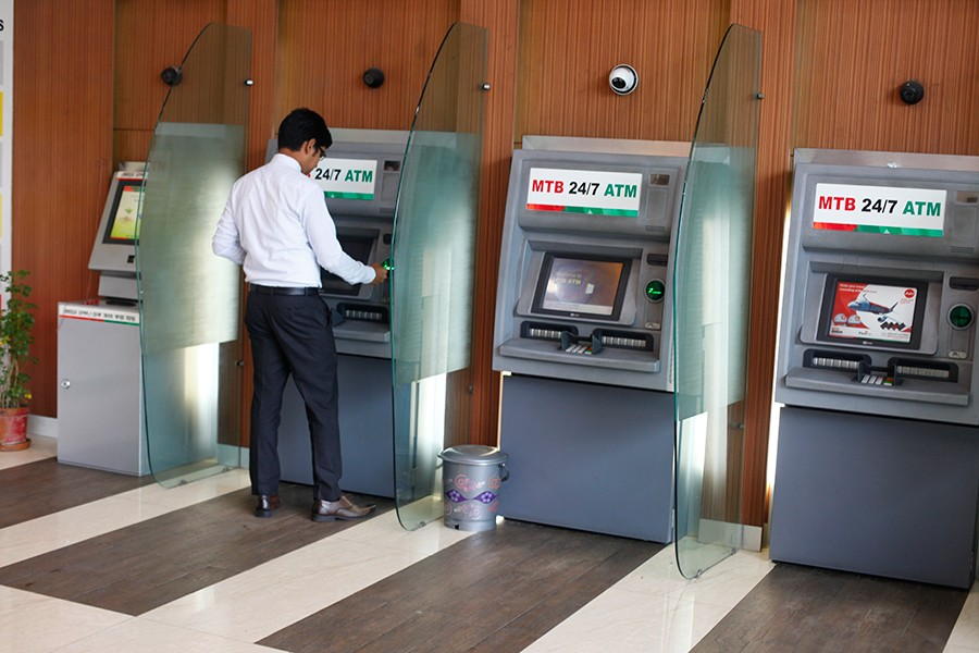 Number of ATM booth reaches 10,924
