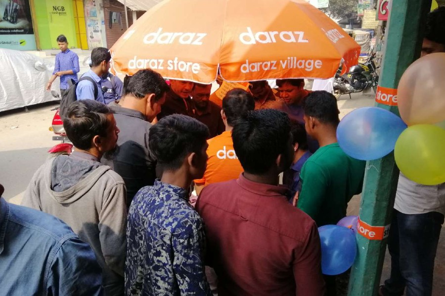 Daraz Village brings e-commerce services in rural areas