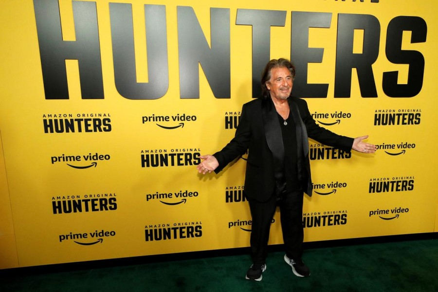 """Hunters"", released on Friday and starring Al Pacino, features a team of Nazi hunters in 1970s New York who discover that hundreds of escaped Nazis are living in the United States - Reuters photo"