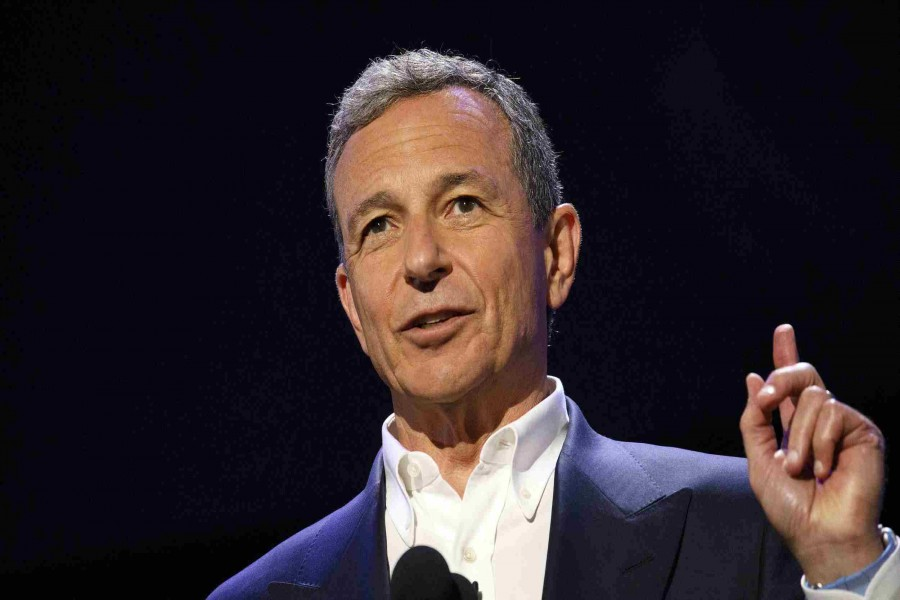 Walt Disney's Iger steps down as CEO