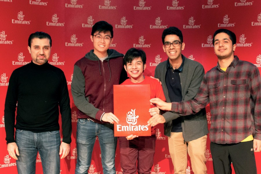 Emirates recognises extraordinary ideas from young talents‎