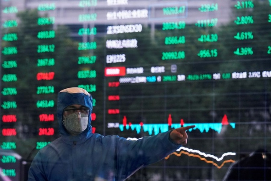 $6.0t wiped off world stocks this week over coronavirus fear