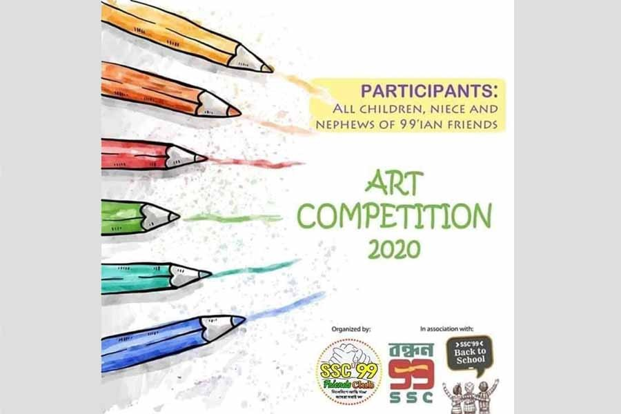 Art competition for children of SSC-99 batch