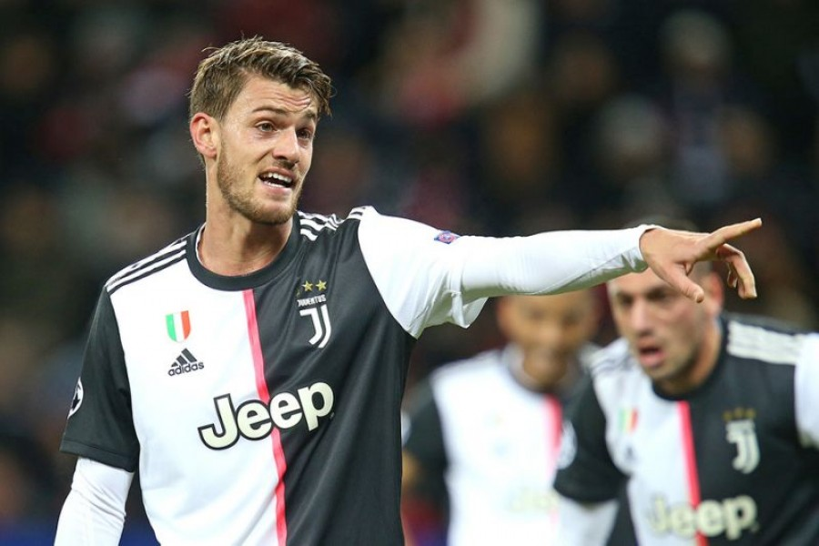 Juventus defender Rugani tests positive for COVID-19