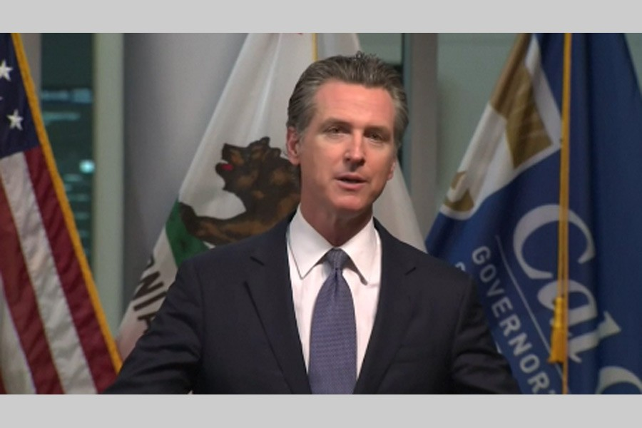 California issues state-wide 'stay at home' order