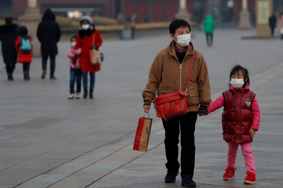 The total number of cases in China now stands at 81,285 - Reuters photo