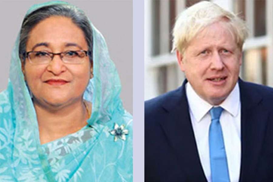 PM wishes full recovery of Boris Johnson from Covid-19