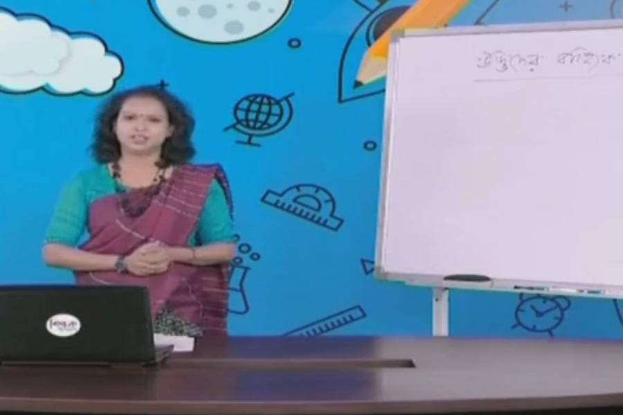 Sangsad TV begins airing lessons for secondary level students