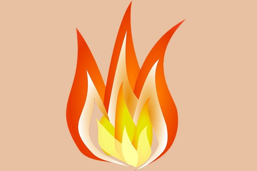 RMG factory in Gazipur catches fire