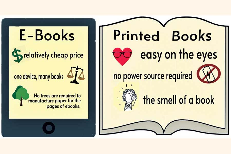 Printed books vs e-books: Readers' thoughts