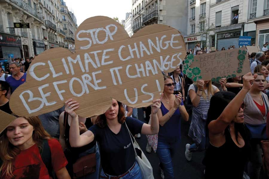 Climate emergency must build a  resilient and sustainable future