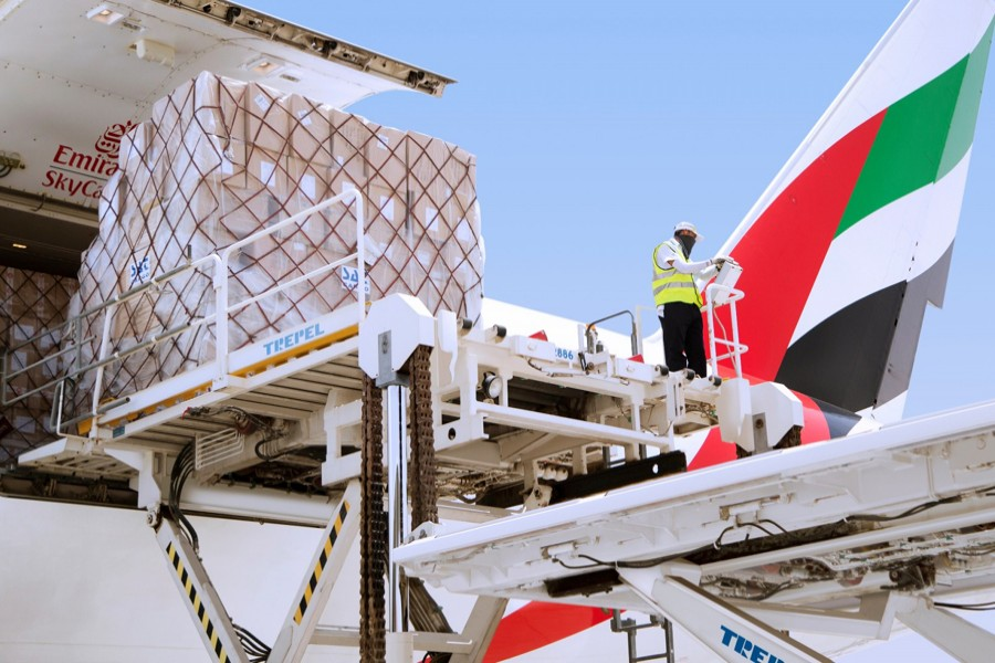 Emirates SkyCargo ramps up operations for transport of essentials