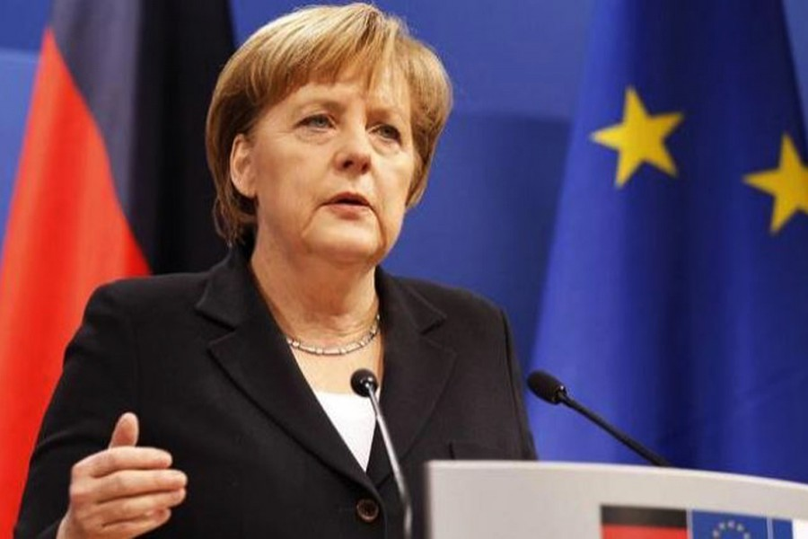 File photo of German Chancellor Angela Merkel. (Collected)