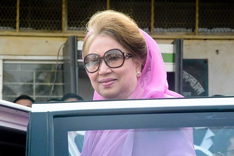 Khaleda to observe fasting in quarantine