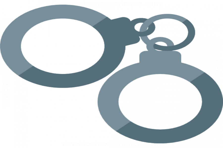 One jailed for violating social distancing