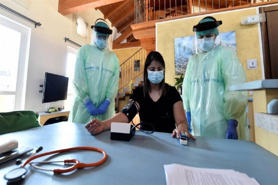 The number of cases has been falling, and authorities now believe the contagion rate - the number of people each person with the virus infects - is low enough to justify a cautious easing of curbs - Reuters file photo used for representation