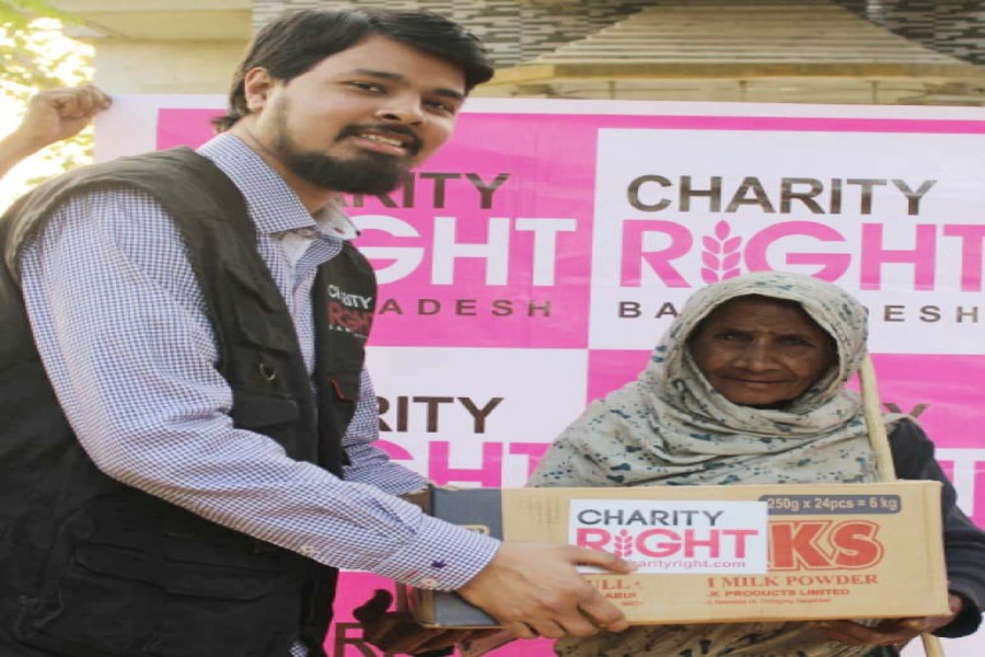 Charity Right initiates programmes for poor families