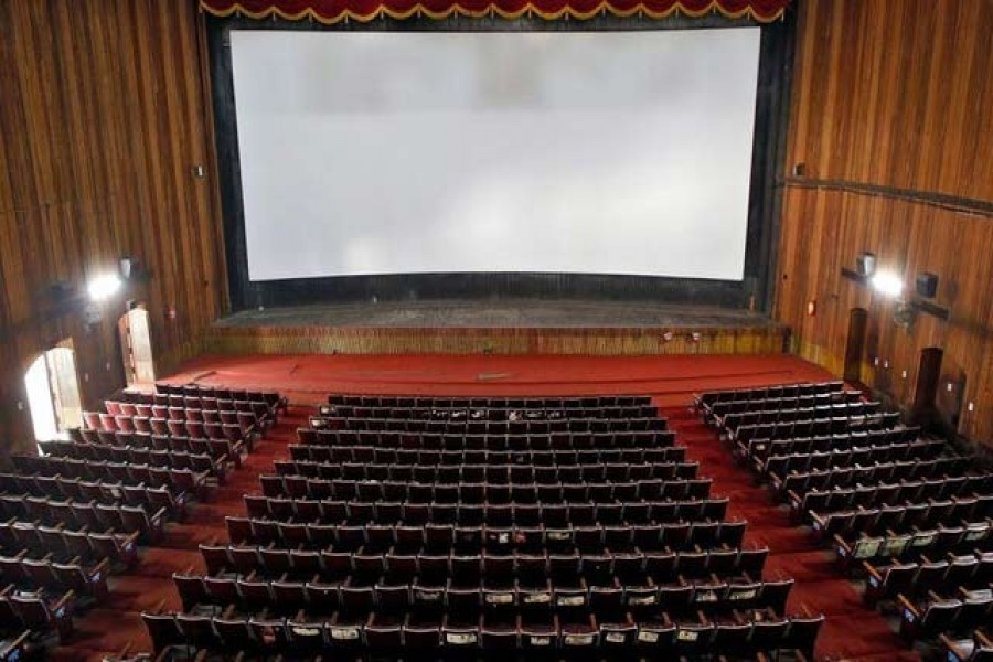 A view of an empty movie theatre after Kerala state government ordered the closure of theatres across the state till March 16, amid coronavirus fears, in Kochi, India, March 11, 2020. — Reuters/Files