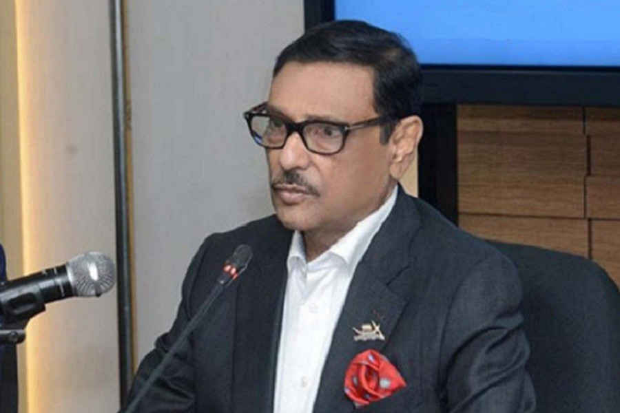 BNP is infected with virus of criticism: Obaidul Quader
