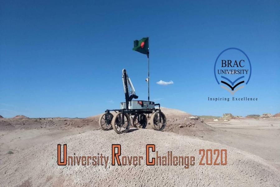 Brac University ranks 3rd globally in URC2020 competition