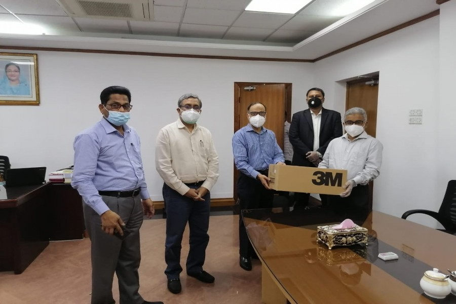 GSK Bangladesh donates N95 masks and other PPEs for healthcare professionals