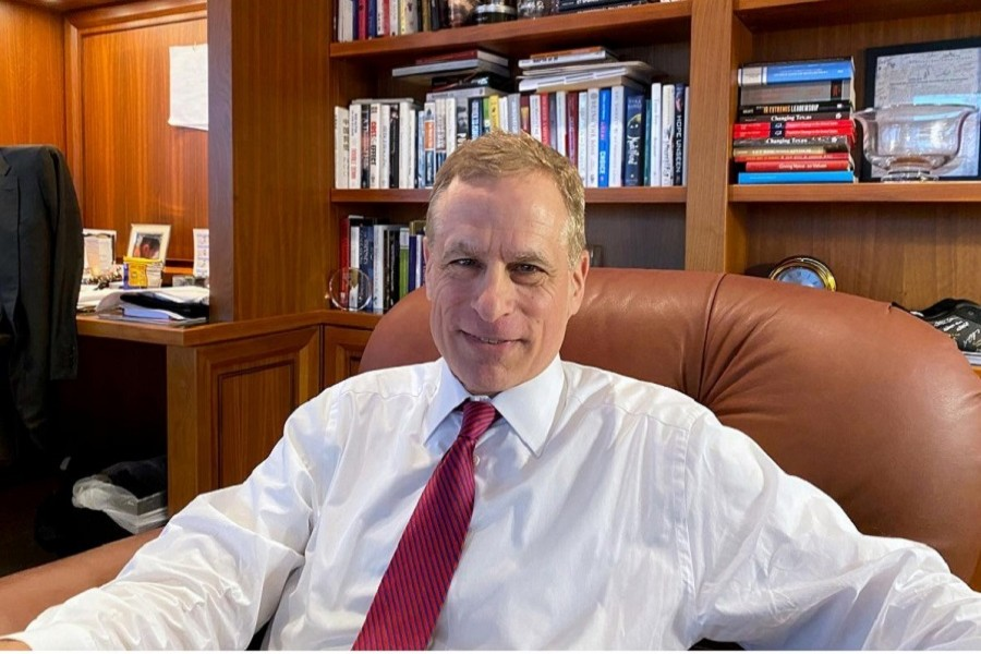 Dallas Federal Reserve Bank President Robert Kaplan speaks during an interview in his office at the bank's headquarters in Dallas, Texas, US, January 09, 2020. — Reuters/Files