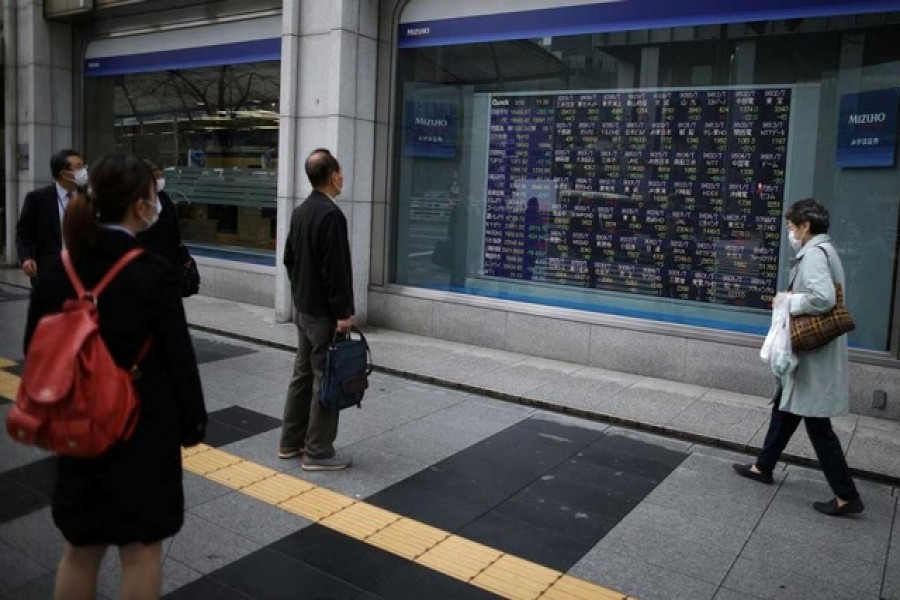 Asia shares temper rally, await China policy meeting
