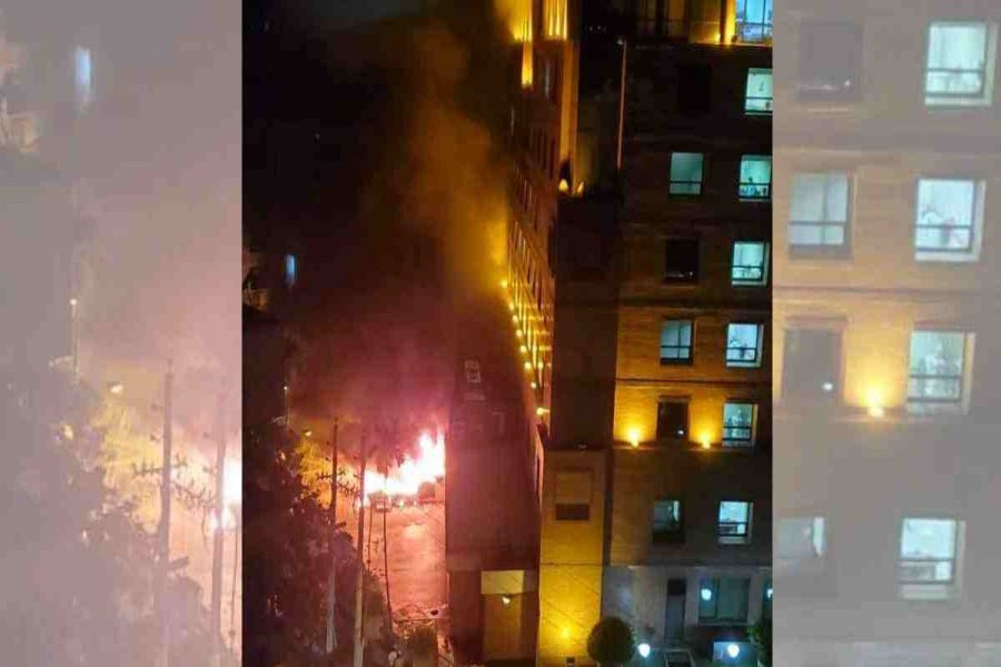 Case filed over United Hospital fire