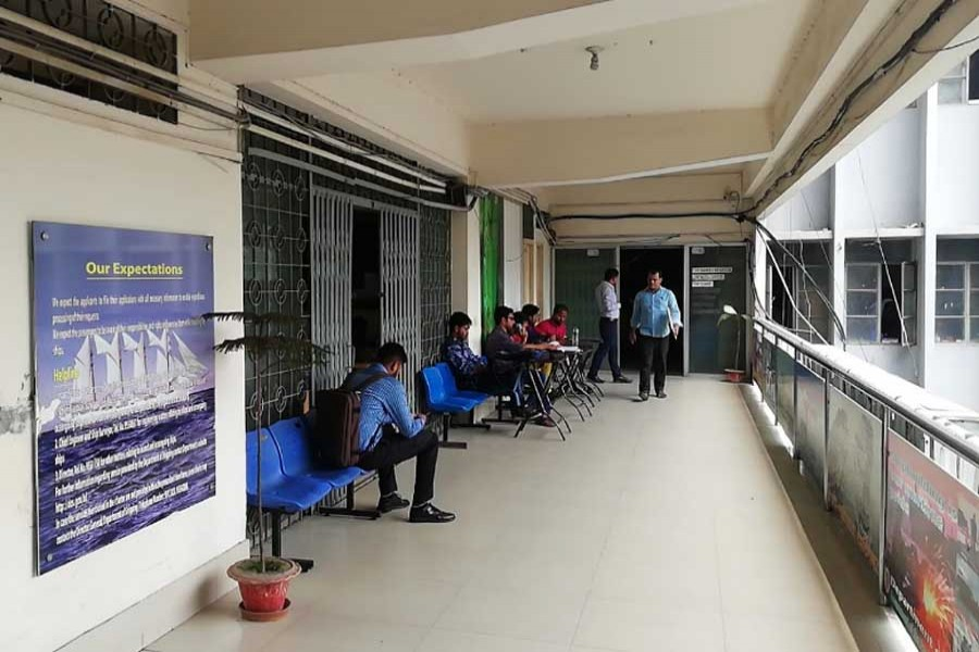 File photo of Department of Shipping office in Dhaka. (Collected)