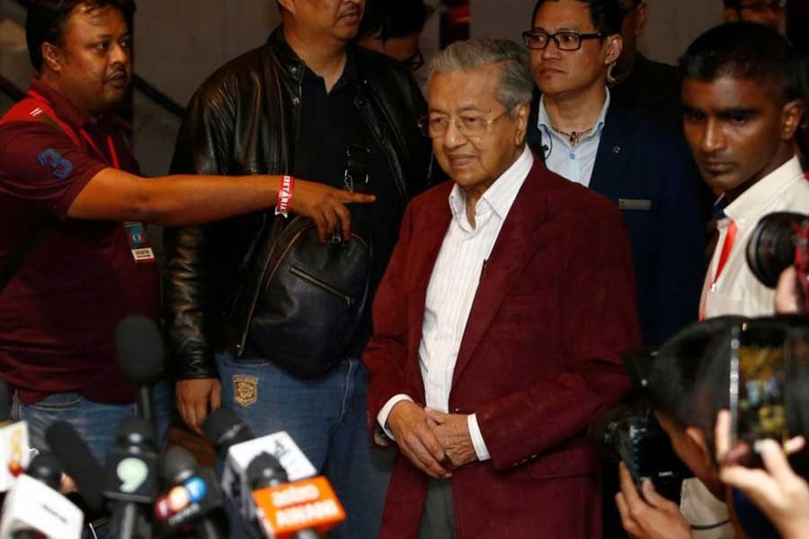Malaysia's Mahathir ousted from party amid power struggle